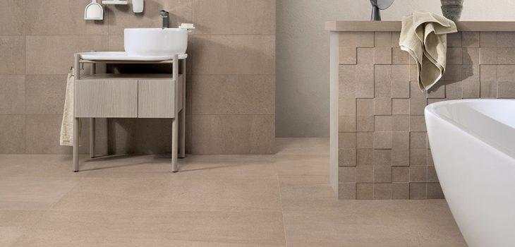 Bagni-piastrelle_Ceramiche-Coem_Arenaria_Beige-60x120-30x60-Mosaico-3D3
