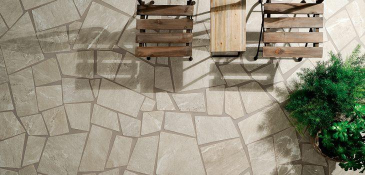 Gres-porcellanato-effetto-pietra_Ceramiche-Coem_Cardoso_Beige-Palladiana-Strutturato-Burattato