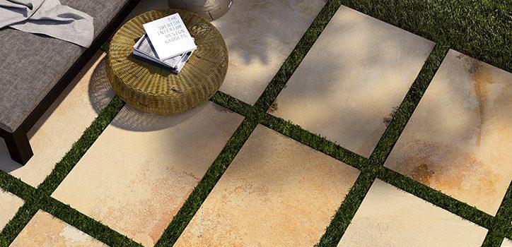 Pavimenti-per-outdoor-effetto-pietra_Ceramiche-Coem_Fossilia_gresX2_Dorato-60x90