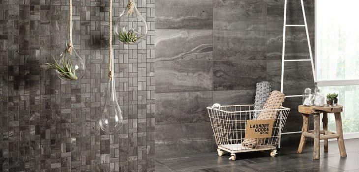 Piastrelle-in-gres_Ceramiche-Coem_Reverso2_Black-60x60-30x60-Mosaico-Bricks-Patinato