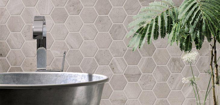 Rivestimenti-bagno_Ceramiche-Coem_Reverso_Grigio-Mosaico-Esagono
