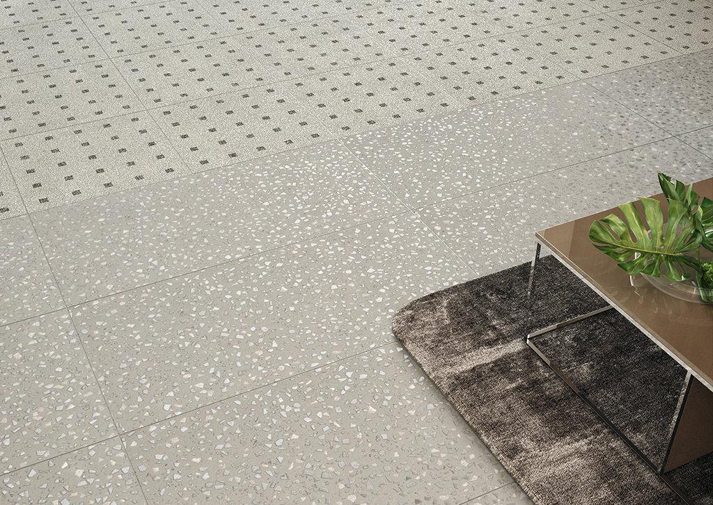 piastrelle-per-pavimenti-interni_Ceramiche-Coem_Terrazzo_Calce-Maxi-60x120_Decoro-Carrè-Calce-60x60