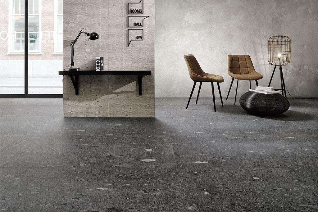 Ceramiche-Coem_Moon_Stone_Black-75x1497_Grey-Pieces-30x60_Pavimenti-per-interni