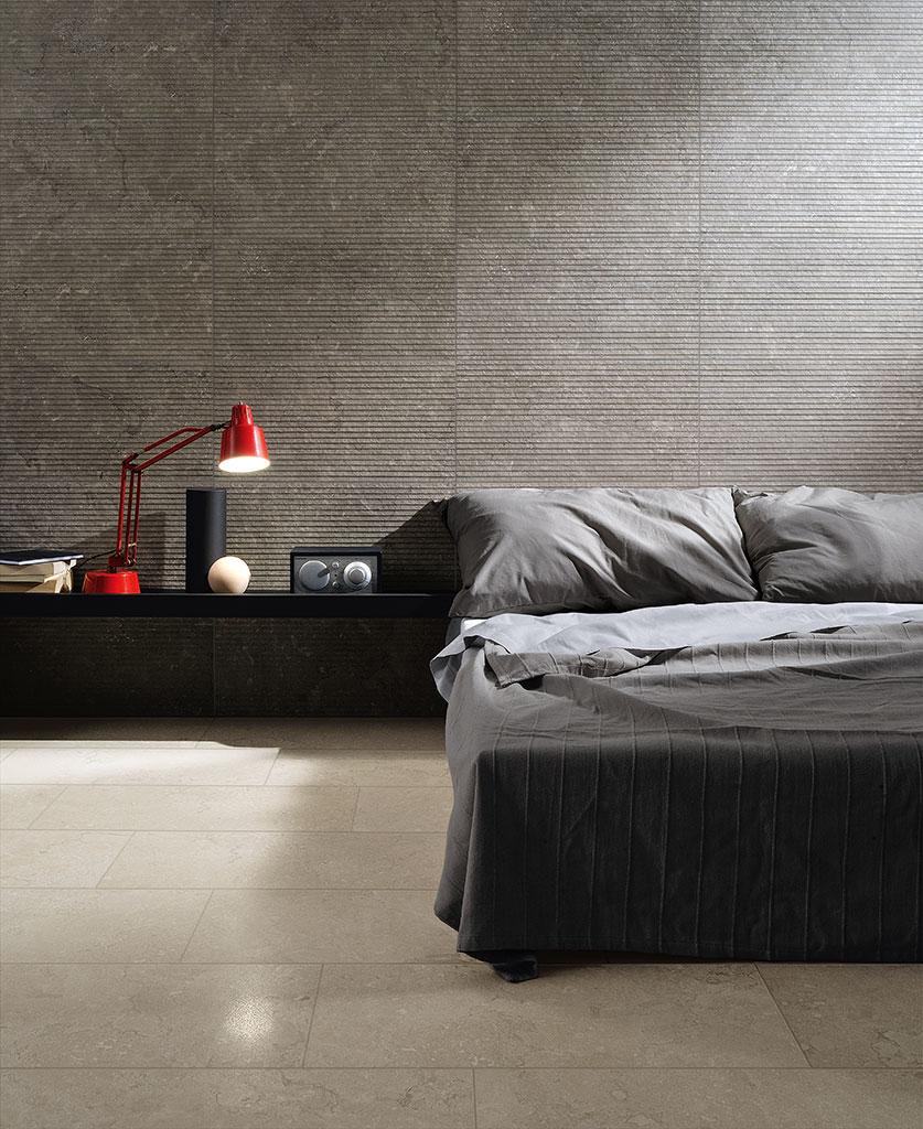 Rivestimenti_Pavimenti-interni_Ceramiche-Coem_Lagos_Ivory-30x60-Lucidato_-Stripes-Concrete-30x60