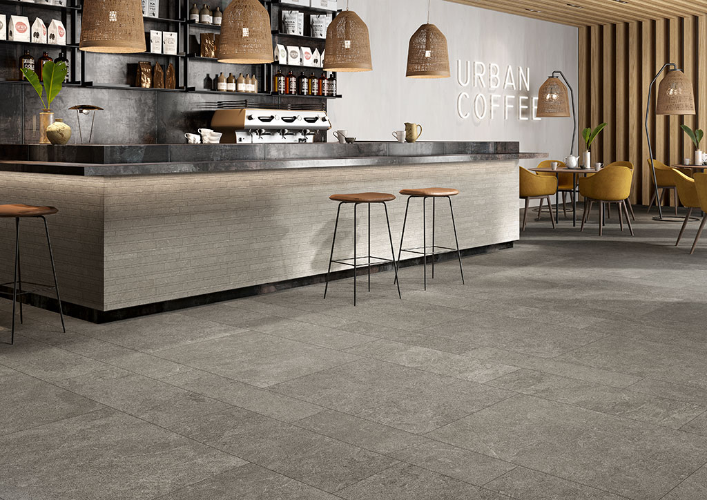 pavimenti-per-interni_Ceramiche-Coem_Modica_Grigio-Scuro-Stone-60x90-30x90-20x90_Grigio-Chiaro-Stone-Mosiaco-Wall-Mix
