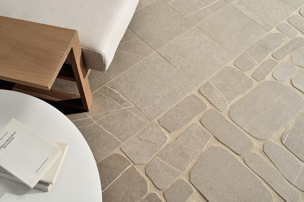 Pavimenti-per-outdoor_Ceramiche-Coem_I-Sassi_Terra-30x30_Palladiana
