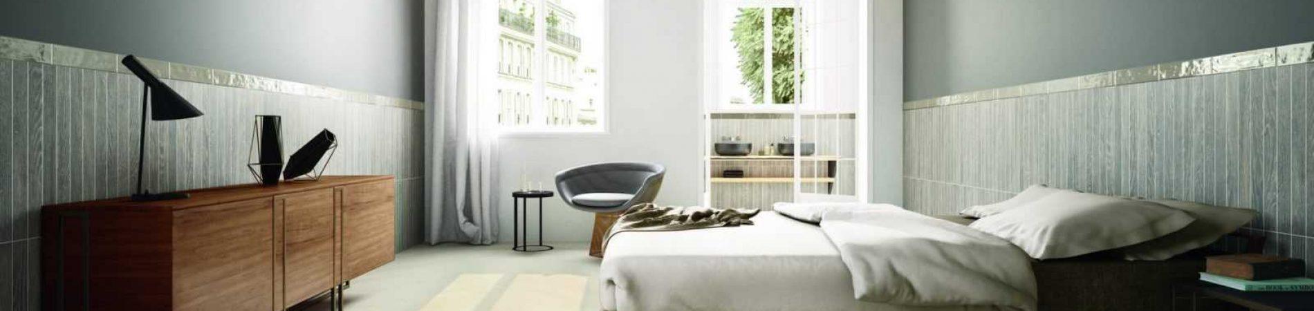 Evood Paint Pick Tone Taupe bedroom