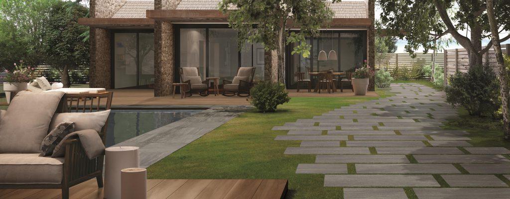 Giardino Aextra20 Graustein-Oak