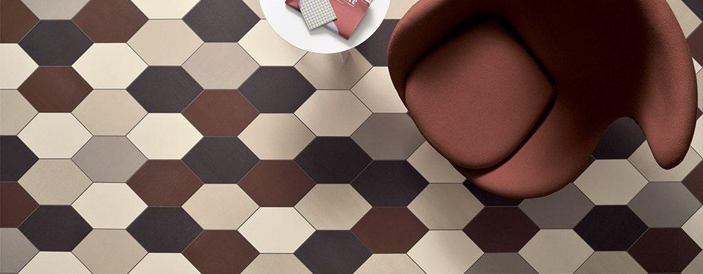 Pavimenti-per-interni_Ceramiche-Coem_Kanvas_Esagono-Lino-Iuta-Cenere-Marsala-Grafite1